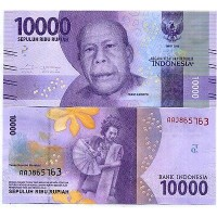 Индонезия 10000 рупий 2016г.