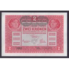 Австрия 2 кроны 1917г.