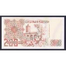 Алжир  200 динаров 1992г.