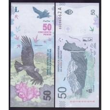 Аргентина 50 песо 2018г.