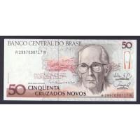 Бразилия 50 крузадо 1989г.
