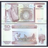 Бурунди 50 франков 2007г.