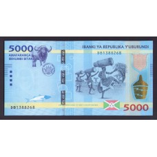 Бурунди 5000 франков 2015г.