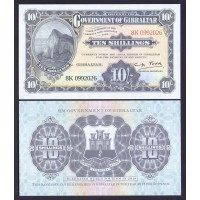 Гибралтар 10 шиллингов 2018г.