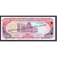 Доминиканская республика 1000 песо 1993г.