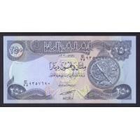Ирак  250 динаров 2003г.
