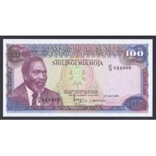 Кения 100 шиллингов 1978г.