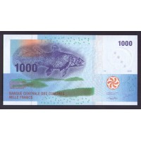 Коморские острова 1000 франков 2005г.