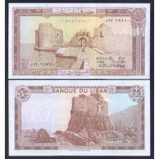 Ливан  25 ливров 1983г.