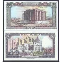 Ливан  50 ливров 1988г.