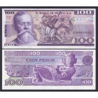 Мексика  100 песо 1982г.