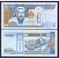 Монголия 1000 тугриков 20017г.