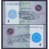Никарагуа  5 кордоба 2019г.