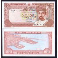 Оман 100 байса 1987г.