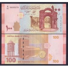Сирия  100 фунтов  2019г.