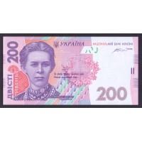Украина 200 гривен 2014г.