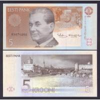 Эстония  5 крон 1994г.