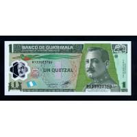 Гватемала 1 кетцаль 2012 г.