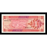 Нидерландские Антилы 1 гульден 1970г.