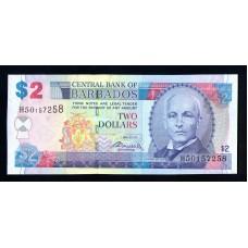 Барбадос  2$  2007г.