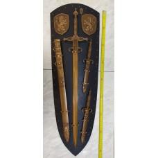 Композиция по мотивам вооружения 15 века.