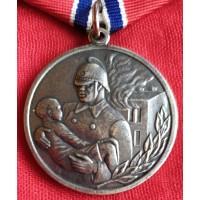 """Медаль. """" За отвагу на пожаре """". Копия."""