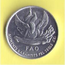 Андорра 1 сантим 1999г. ФАО
