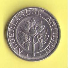 Нидерландские Антиллы 25 центов 2009г.