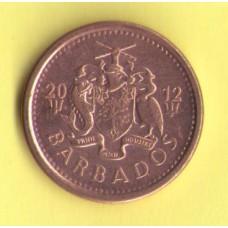 Барбадос 1 цент  2012г.