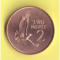 Замбия 2 нгве  1983г.