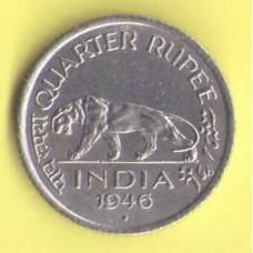 Индия ( брит.) 1/4 рупии 1946г.