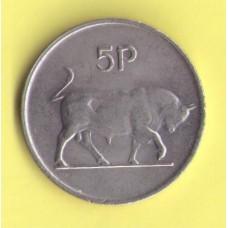 Ирландия 5 пенсов 1982г.