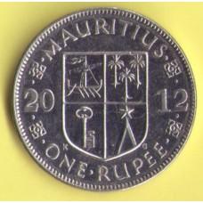 Маврикий 1 рупия 2012г.