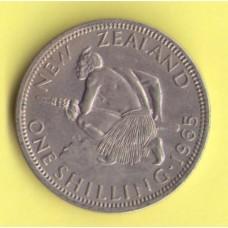Новая Зеландия  1пенни 1965г.