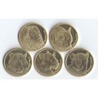 Сомалиленд 5 монет 2016г.