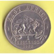 Восточная Африка 1 шиллинг 1952г.